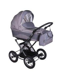 Детская коляска 2 в 1 Adamex Aspena Aquarelle 104L