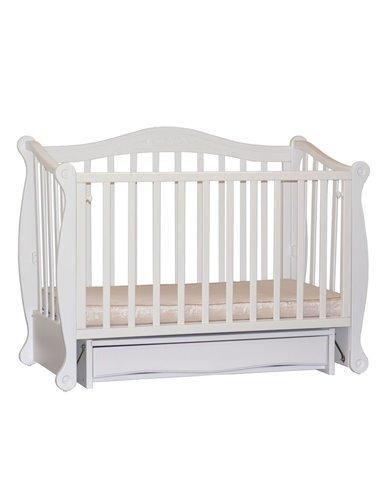 Кроватка Колисани Ляля белый
