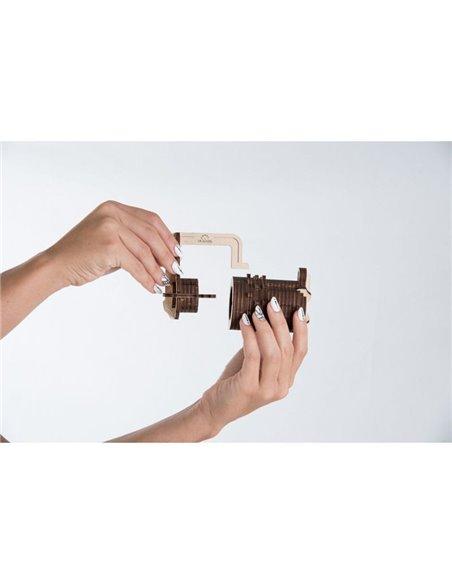 Конструктор механический 3D Ukr-Gears Кодовый замок