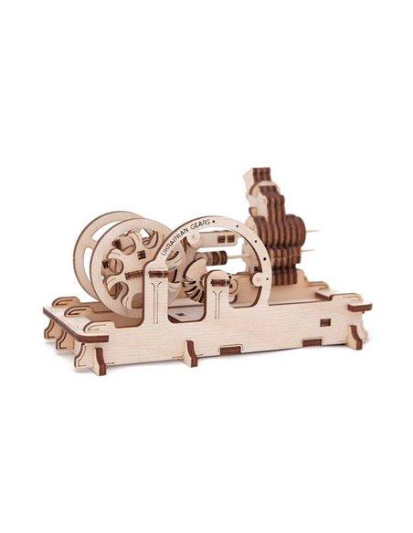 Конструктор механический 3D Ukr-Gears Двигатель