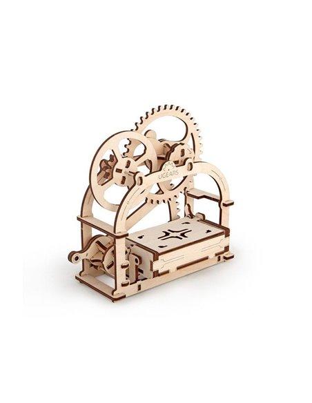 Конструктор механічний 3D Ukr-Gears Механічна шкатулка