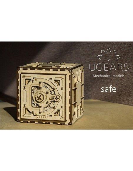 Конструктор механический 3D Ukr-Gears Сейф