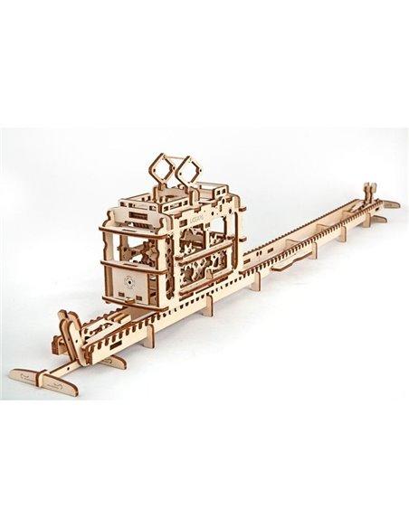 Конструктор механічний 3D Ukr-Gears Трамвайчик
