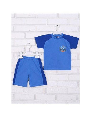 Комплект Татошка 08168 голубой/синий
