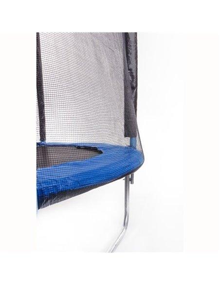 Пуховый конверт Ontario Inflated Blue с меховой подкладкой