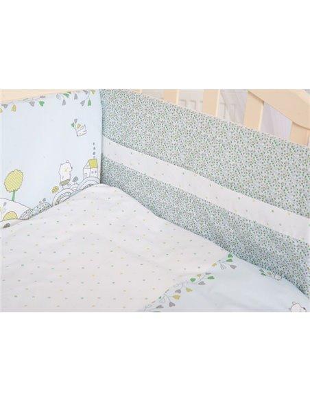 Детский постельный комплект Twins Eco Line 6 элементов E-010