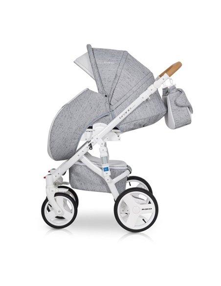 Детская коляска 2 в 1 Riko Brano Luxe Anthracite