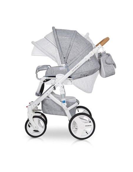 Детская коляска 2 в 1 Riko Brano Luxe Grey Fox