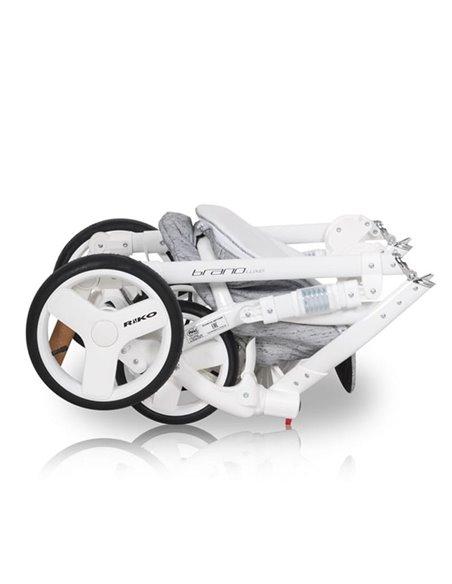 Дитяча коляска 2 в 1 Riko Brano Luxe Grey Fox