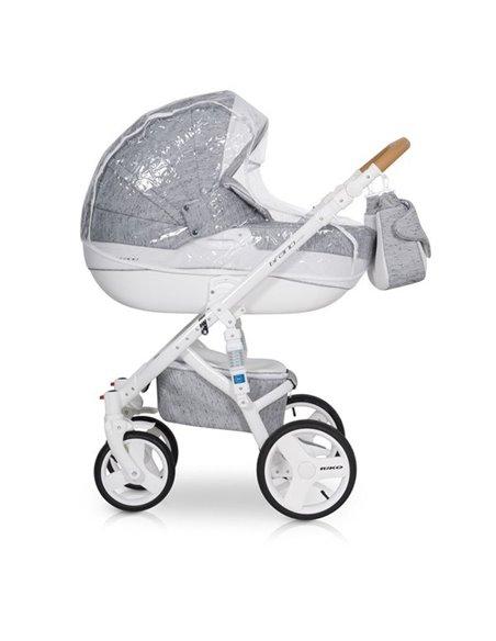 Детская коляска 2 в 1 Riko Brano Luxe Latte