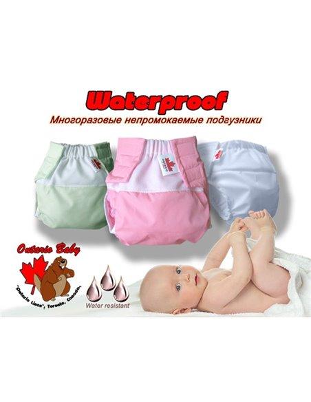 Багаторазовий підгузник Ontario Waterproof від 0 до 6 міс. (вага від 3,3 до 7,5 кг, зріст від 50 до 67 см) Зелений 253