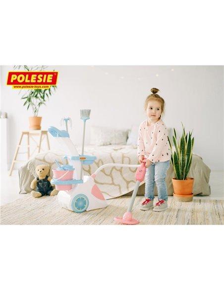 Набор Помощница-5 с пылесосом Polesie 54999