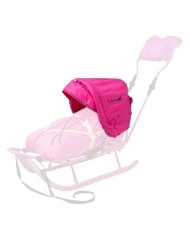 Капюшон до санок Adbor Piccolino, Xdrive рожевий
