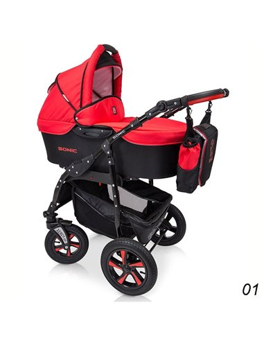 Детская коляска 3 в 1 Verdi Sonic 01