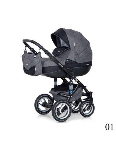 Детская коляска 2 в 1 Riko Brano 01