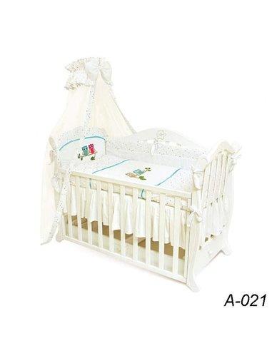 Детский постельный комплект Twins Evolution 7 элементов A-021 Сова