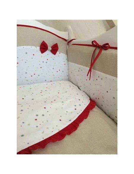 Детский постельный комплект Twins Premium Starlet 8 элементов P-021
