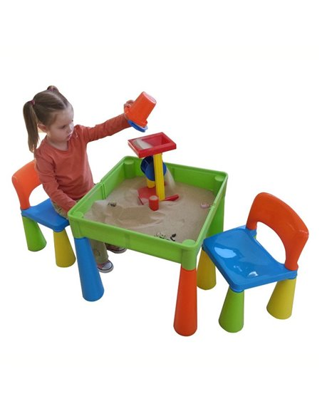 Детский столик и стульчики Tega Mamut мультиколор