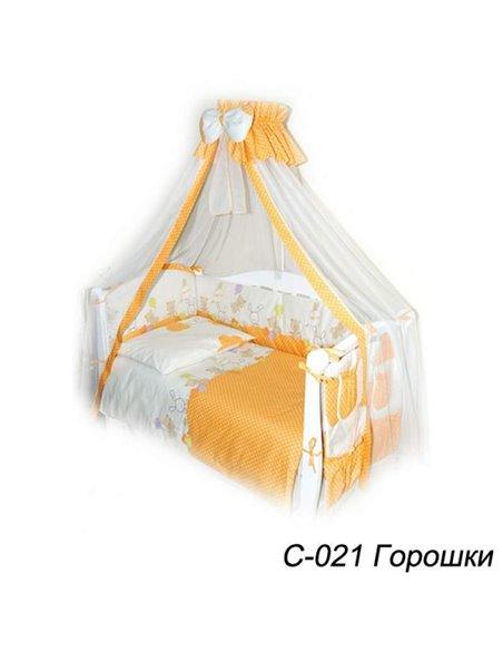 Дитяча змінна постіль Twins Comfort C-021 Горошки
