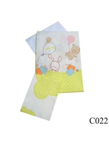 Детская сменная постель Twins Comfort C-022 Горошки