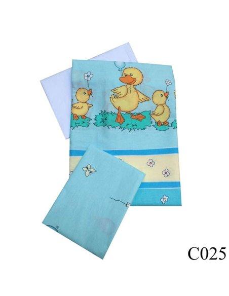 Детская сменная постель Twins Comfort C-025 Утята