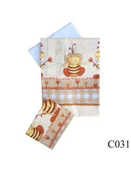 Дитяча змінна постіль Twins Comfort C-031 Бджілки