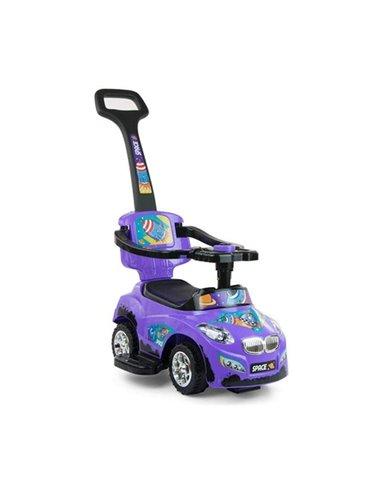 Машинка каталка Milly Mally Happy фиолетовая