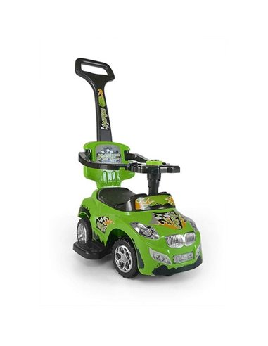 Машинка каталка Milly Mally Happy зелена