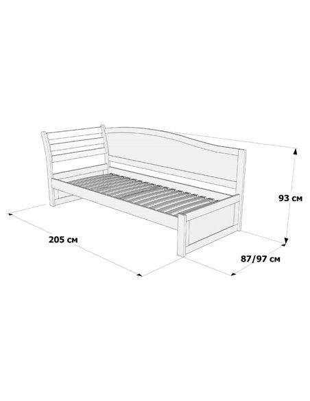 Подростковая кровать Дримка Софи - вставка МДФ