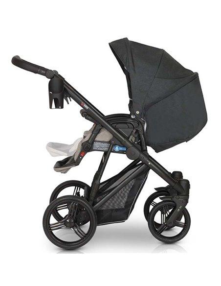 Детская коляска 3 в 1 Verdi Dynamic VD-01 серая