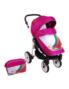 Детская прогулочная коляска 4Baby Guido Red