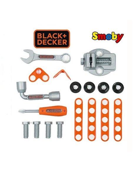 Візок з інструментами Smoby Black & Decker 360202