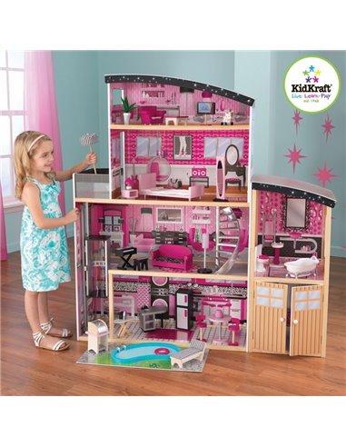 Ляльковий будиночок KidKraft Sparkle Mansion 65826
