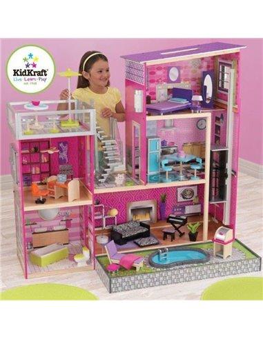 Кукольный домик KidKraft Luxury 65833