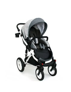 Прогулочная коляска BabyStyle Oyster Zero Wow Pink