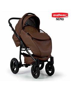 Детская коляска 3 в 1 EasyGo Virage Ecco 2019 Denim