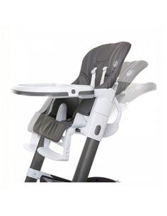 Дитяча коляска 3 в 1 EasyGo Optimo Air 2019 Grey Fox