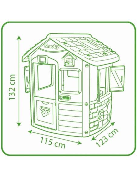 Дитячий будиночок Smoby Jura 810500