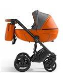 Детская прогулочная коляска BeneBaby D200 серая