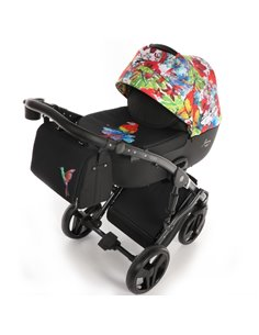 Детская коляска 2 в 1 Broco Chance 732 dark grey
