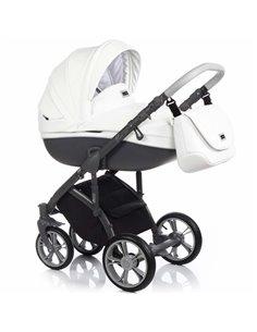 Детская коляска 2 в 1 BabyZz B102 красная
