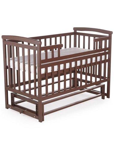 Кроватка Детский Сон с маятником орех
