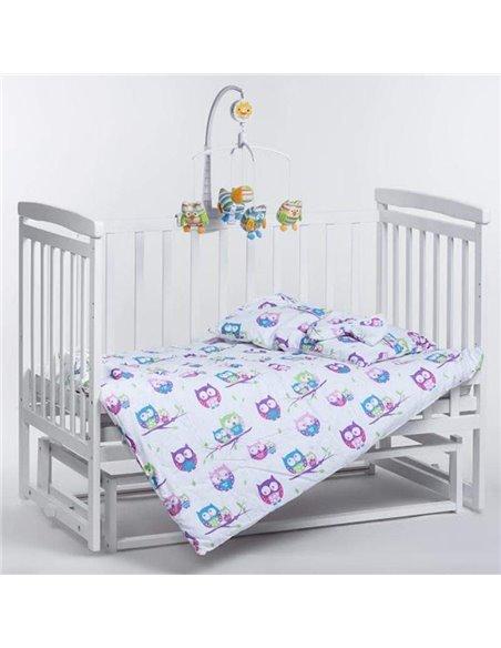 Ліжечко Дитячий Сон з маятником слонова кістка