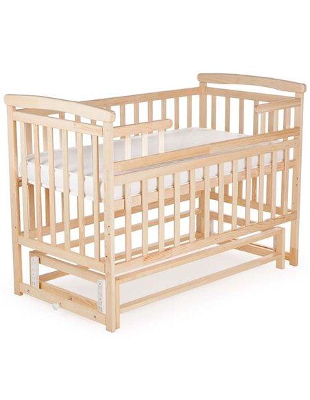 Ліжечко Дитячий Сон з маятником натуральний