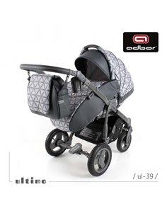 Дитяча коляска 2 в 1 ibebe i-stop бірюзова