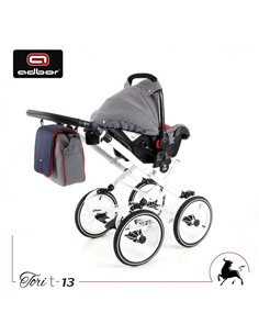 Детская прогулочная коляска Espiro Magic New 17 Polar graphite