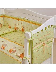 Детский постельный комплект Маленькая Соня Семейка белый