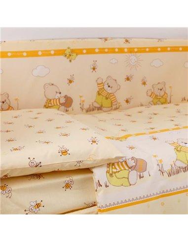 Детский постельный комплект Маленькая Соня Семейка розовый