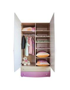 Детская сменная постель Маленькая Соня Shine розовый зигзаг
