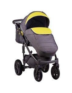Детская коляска 2 в 1 Kunert Verino 02 Коричневый - Кремовый